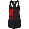 T-Shirts Black / X-Small Bulking Season Racerback Tank
