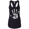 T-Shirts Black / X-Small Chalk Up! Racerback Tank