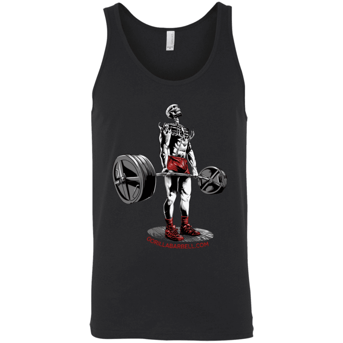 T-Shirts Black / X-Small Dead Man's Lift Tank Top