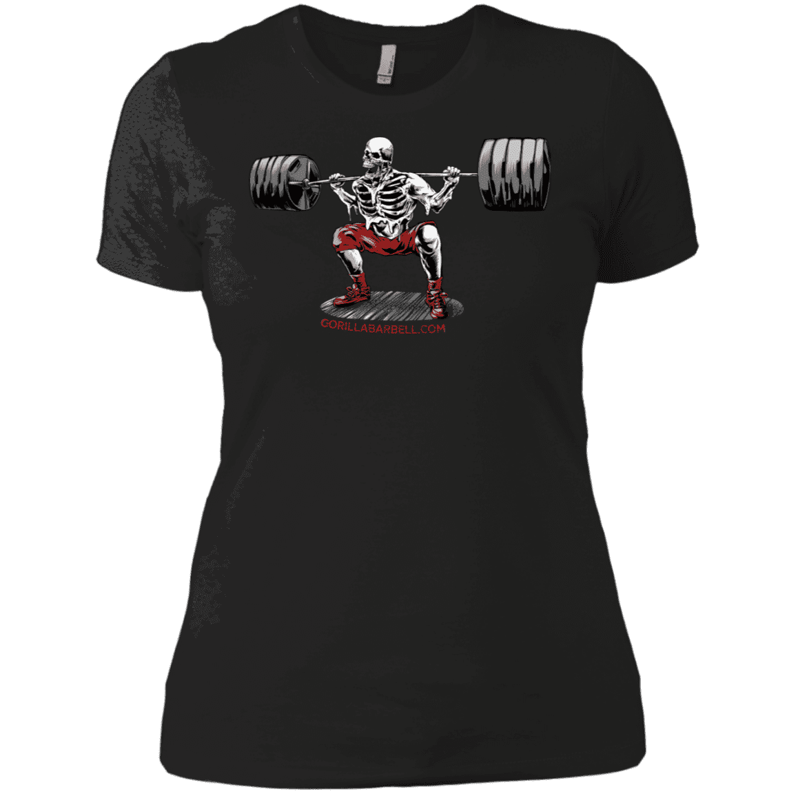 T-Shirts Black / X-Small Dead Man's Squat Women's XC Tee