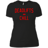 T-Shirts Black / X-Small Deadlifts And Chill Women's XC Tee