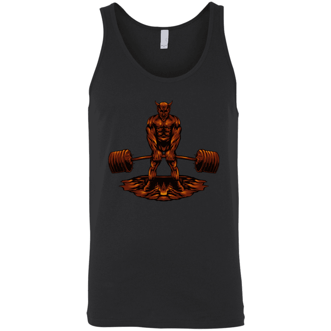 T-Shirts Black / X-Small Devil's Deadlift Tank Top