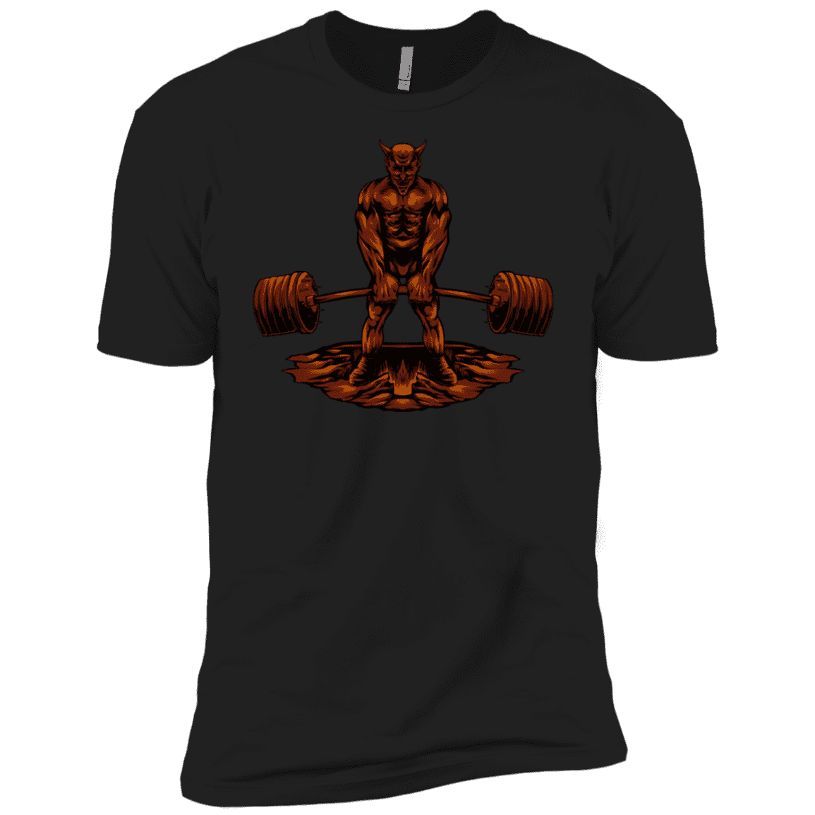 T-Shirts Black / X-Small Devil's Deadlift XC Tee
