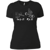 T-Shirts Black / X-Small Grip And Rip Women's XC Tee