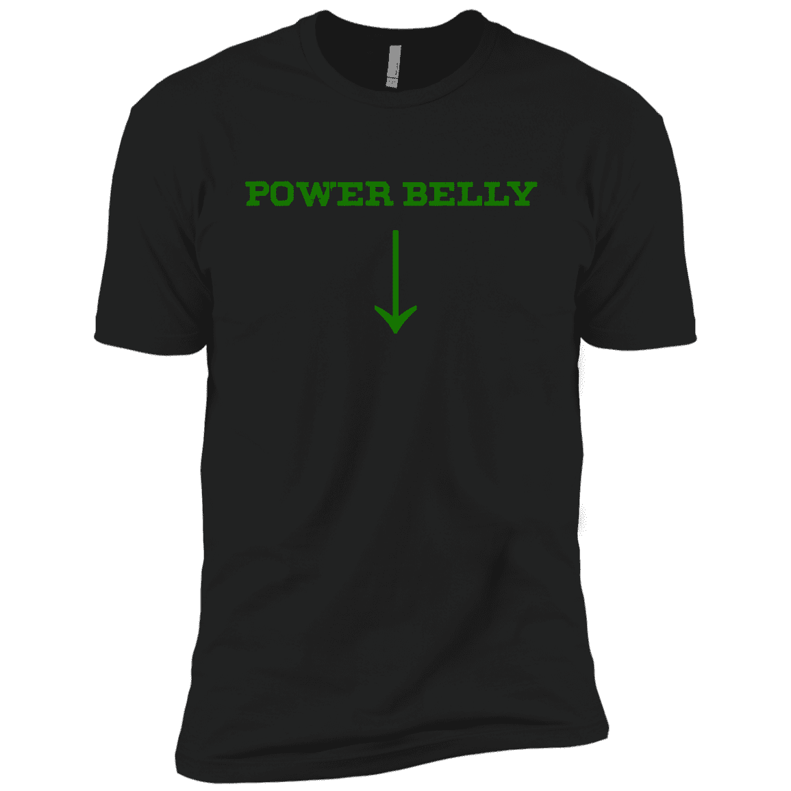 T-Shirts Black / X-Small Power Belly XC Tee