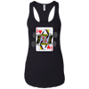 T-Shirts Black / X-Small Queen Of Squats Racerback Tank