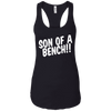 T-Shirts Black / X-Small Son Of A Bench!! Racerback Tank