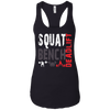 T-Shirts Black / X-Small Squat Bench Deadlift Racerback Tank
