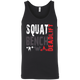 T-Shirts Black / X-Small Squat Bench Deadlift Tank Top