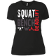 T-Shirts Black / X-Small Squat Bench Deadlift Women's XC Tee