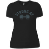 T-Shirts Black / X-Small Strong AF Women's XC Tee