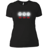 T-Shirts Black / X-Small White Lights Women's XC Tee