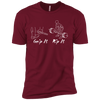 T-Shirts Cardinal Red / X-Small Grip And Rip XC Tee
