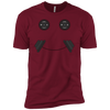 T-Shirts Cardinal Red / X-Small Iron Smiley XC Tee