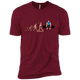 T-Shirts Cardinal / X-Small Evolution (Color) XC Tee