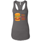 T-Shirts Dark Grey / X-Small Anatomy Of A Burger Racerback Tank