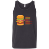 T-Shirts Dark Grey / X-Small Anatomy Of A Burger Tank Top