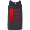 T-Shirts Dark Grey / X-Small Bulking Season Tank Top