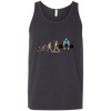 T-Shirts Dark Grey / X-Small Evolution (Colored) Tank Top