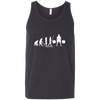 T-Shirts Dark Grey / X-Small Evolution Tank Top