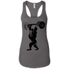 T-Shirts Dark Grey / X-Small Gorilla Press Racerback Tank