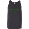 T-Shirts Dark Grey / X-Small Power Belly Tank Top