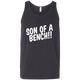 T-Shirts Dark Grey / X-Small Son Of A Bench!! Tank Top