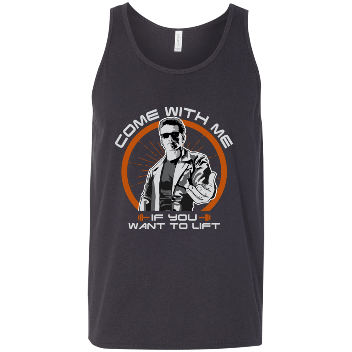 T-Shirts Dark Grey / X-Small The Liftonator Tank Top