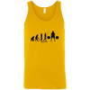T-Shirts Gold / X-Small Evolution Tank Top