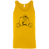 T-Shirts Gold / X-Small Gorilla Strength Tank Top