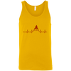 T-Shirts Gold / X-Small Heartbeat Tank Top