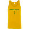 T-Shirts Gold / X-Small Power Belly Tank Top