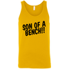 T-Shirts Gold / X-Small Son Of A Bench!! Tank Top