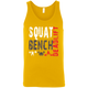 T-Shirts Gold / X-Small Squat Bench Deadlift Tank Top