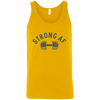 T-Shirts Gold / X-Small Strong AF Tank Top