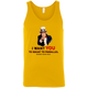 T-Shirts Gold / X-Small Uncle Sam Tank Top