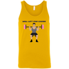 T-Shirts Gold / X-Small Will Lift For Carbs (Donuts Man) Tank Top