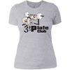 T-Shirts Heather Grey / X-Small 3-Plate Club Women's XC Tee