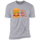 T-Shirts Heather Grey / X-Small Anatomy Of A Burger XC Tee