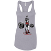 T-Shirts Heather Grey / X-Small Dead Man's Lift Racerback Tank