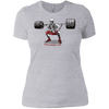 T-Shirts Heather Grey / X-Small Dead Man's Squat Women's XC Tee