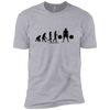 T-Shirts Heather Grey / X-Small Evolution XC Tee
