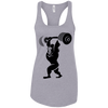 T-Shirts Heather Grey / X-Small Gorilla Press Racerback Tank