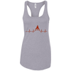 T-Shirts Heather Grey / X-Small Heartbeat Racerback Tank