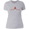 T-Shirts Heather Grey / X-Small Heartbeat Women's XC Tee