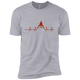 T-Shirts Heather Grey / X-Small Heartbeat XC Tee