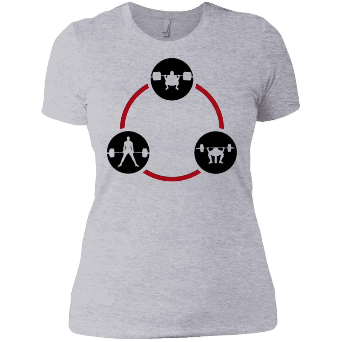 T-Shirts Heather Grey / X-Small Holy Trinity Women's XC Tee