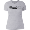 T-Shirts Heather Grey / X-Small Loading Barbell Women's Extra Comfort Tee