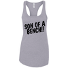 T-Shirts Heather Grey / X-Small Son Of A Bench!! Racerback Tank