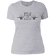 T-Shirts Heather Grey / X-Small Steak And Deadlifts Women's XC Tee